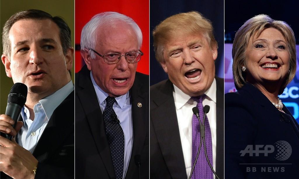 米大統領候補、使う言葉は「13歳以下」 最下位はトランプ氏
