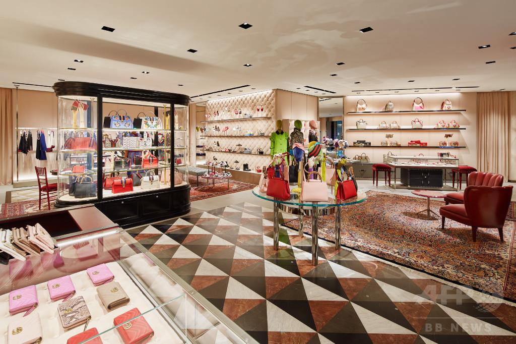 a7c22ede6313 グッチ」六本木ヒルズに新旗艦店オープン 写真3枚 国際ニュース:AFPBB News