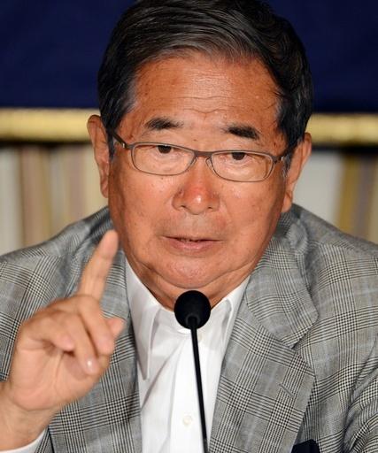 石原都知事が辞職表明、新党結成し国政復帰へ