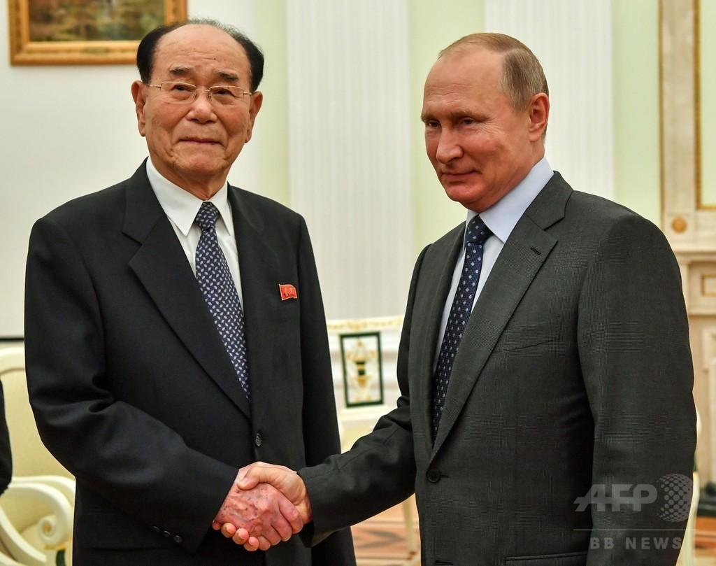 プーチン大統領、金正恩氏をロシアに招待