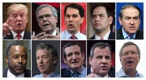 米大統領選、共和党候補者討論会の参加者明らかに