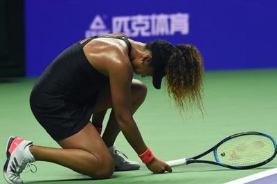 初戦黒星の大坂が挽回誓う「ファンに良い試合を」 WTAファイナルズ