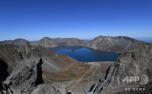 専門家が警告、 中朝国境「白頭山」に大噴火の予兆