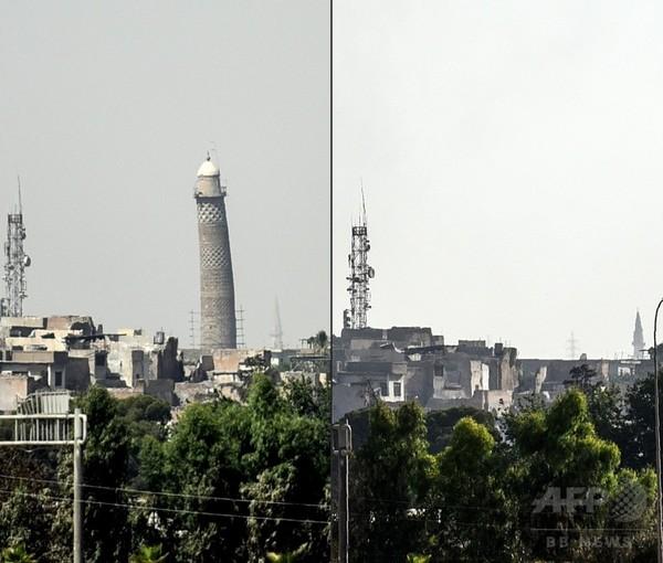 モスル奪回最終盤でイラクが失った歴史的建造物