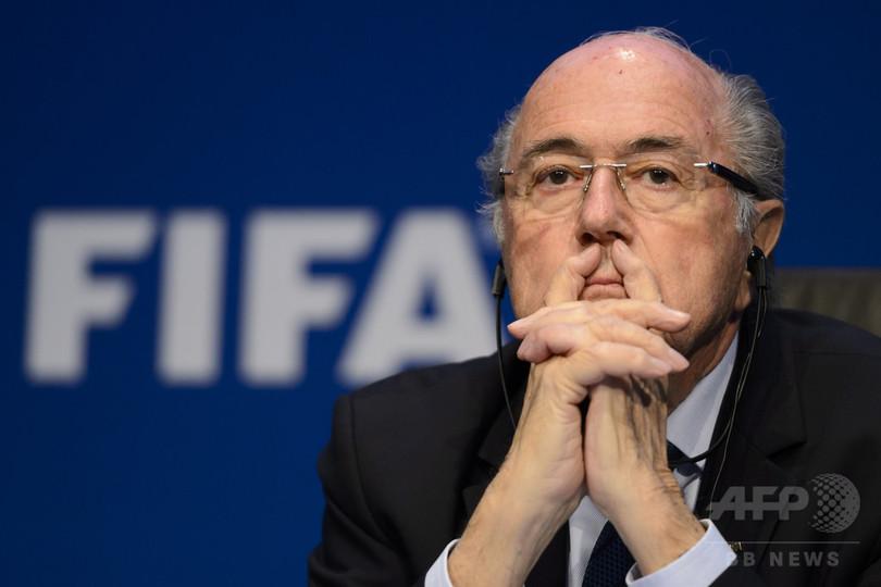 FIFAブラッター会長が再立候補を否定