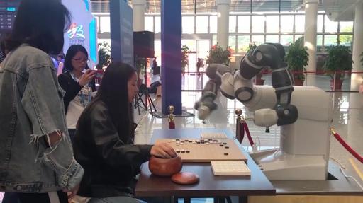 動画:「最高峰の囲碁AI」同士が対局 「デジタル中国建設サミット」
