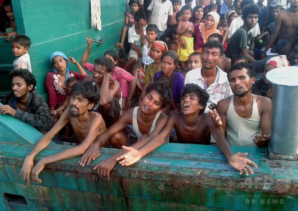 マレーシア、難民船の領海入りを拒否 多数の難民に生命の危機