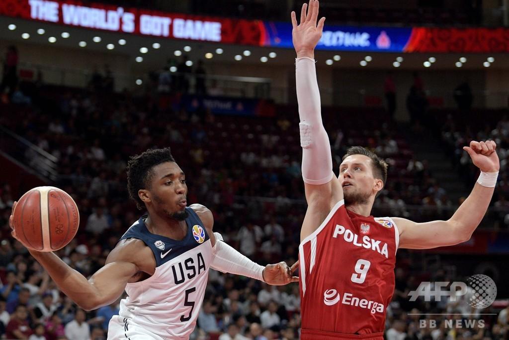 米国は最終戦勝利で7位、バスケW杯では過去最低