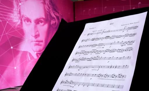 AIがベートーベンの未完の交響曲第10番を完成へ