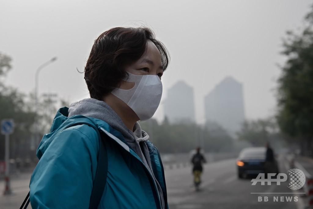 中国都市部、PM2.5濃度上がると幸福度は低下 SNS投稿の分析で明らかに