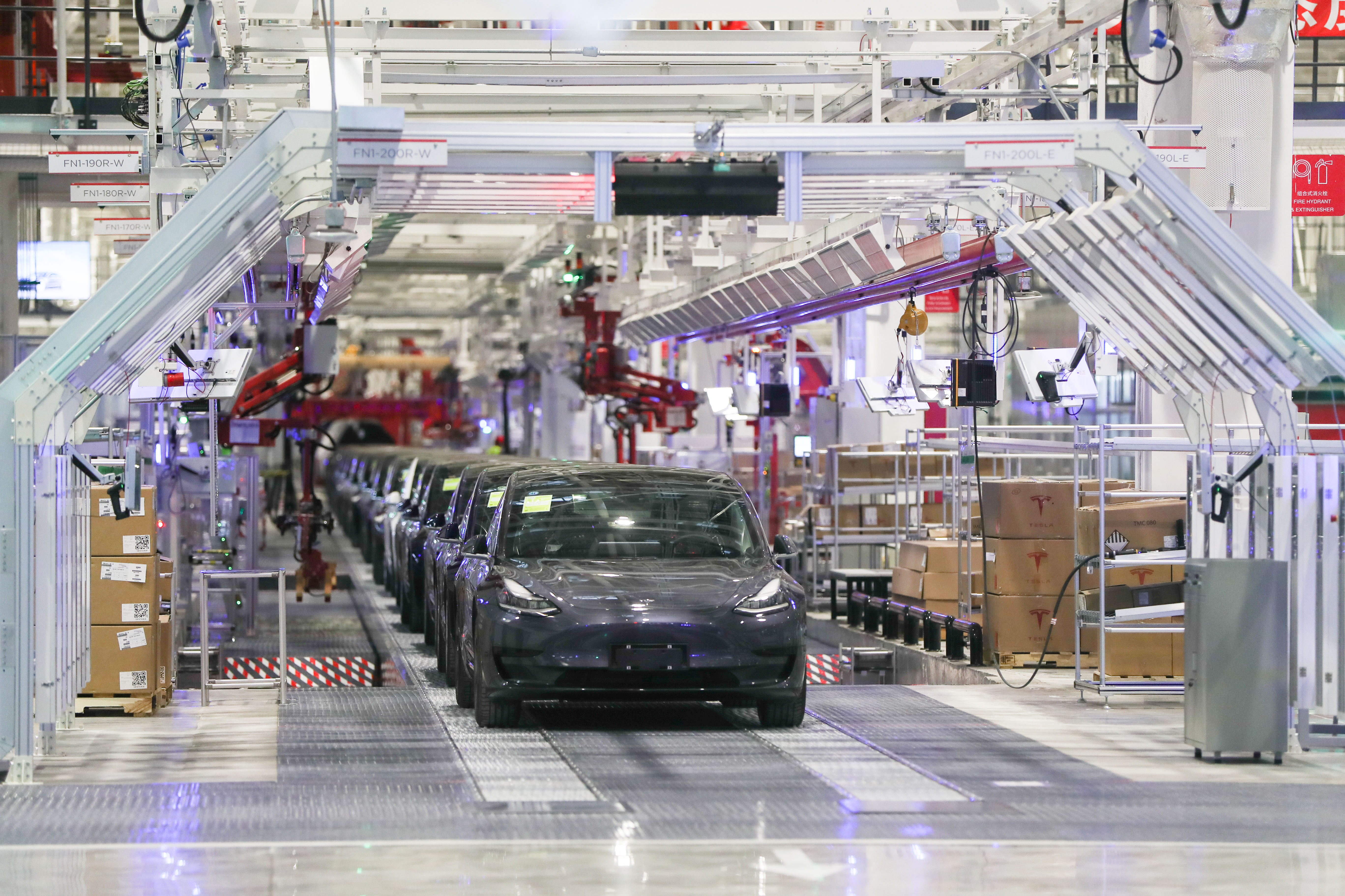 テスラなど、上海で外資系工場が続々と生産再開