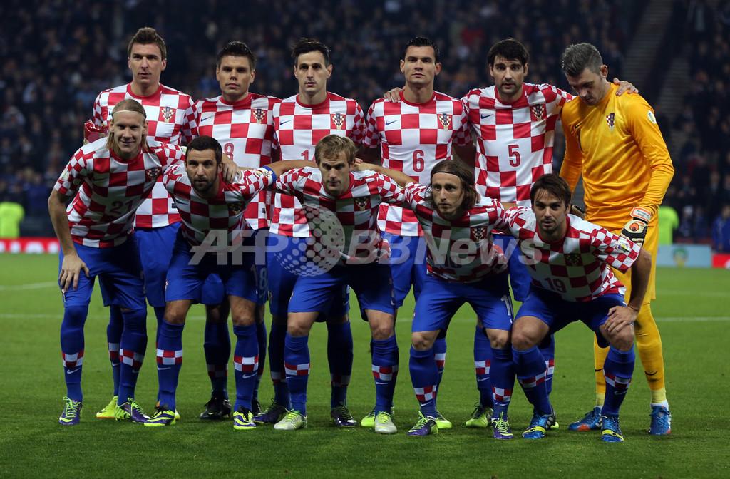 クロアチア代表、W杯出場決めたら報奨金6700万円