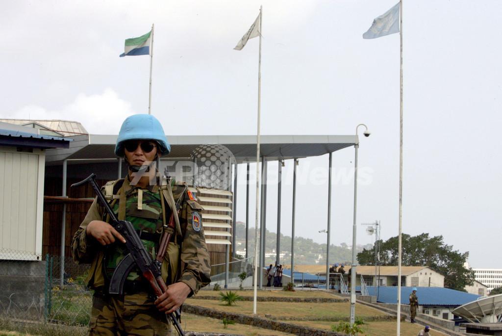 シエラレオネ国際戦犯法廷、「少年兵の強制徴集」で初の有罪判決
