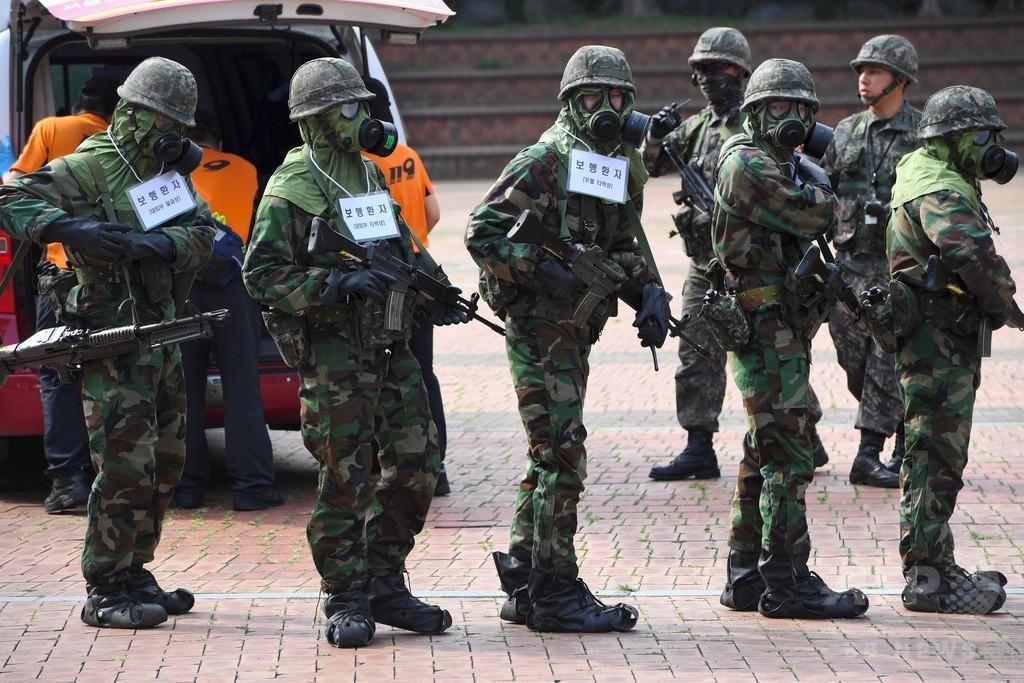 韓国軍一般兵の月給が倍増、なお最低賃金を下回る