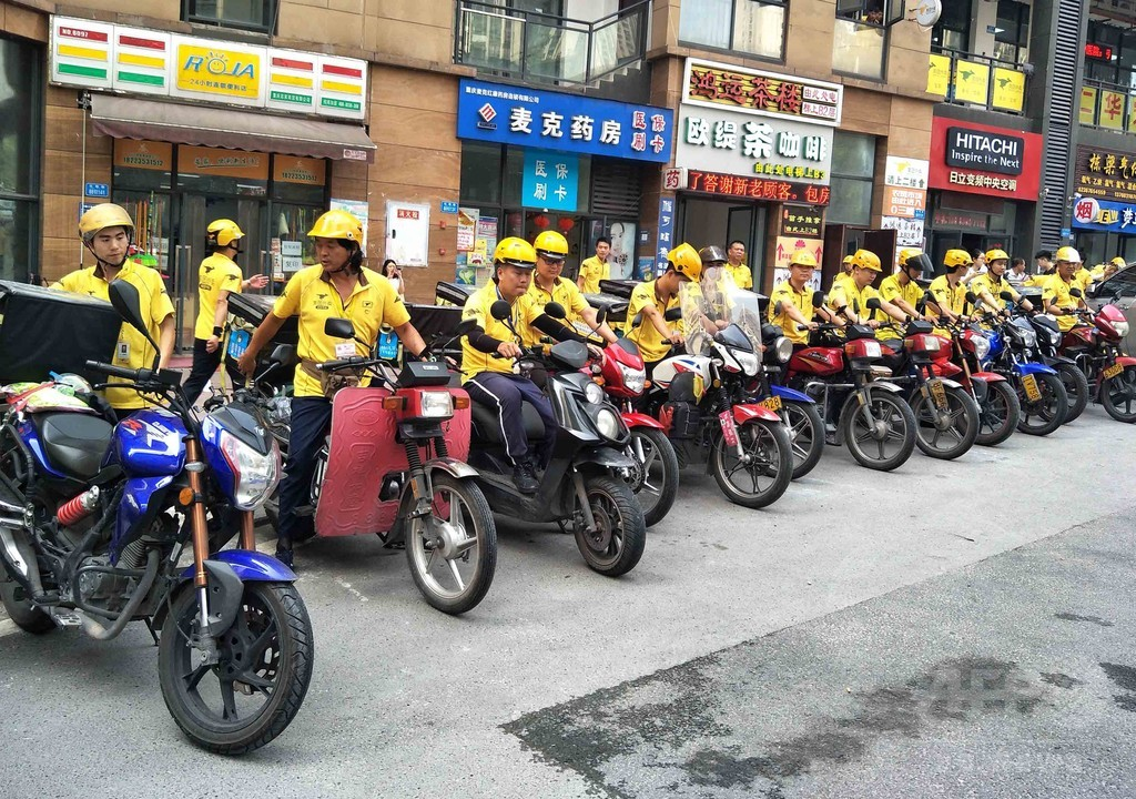 中国デリバリー業界が食品安全キャンペーン