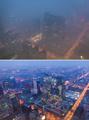 大気汚染に募る国民の怒り、国営メディアも当局を批判 中国
