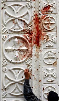 コプト教会爆破事件、抗議デモが一部暴徒化 エジプト 写真5枚 ...