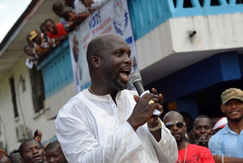 G・ウェア氏、リベリア上院選で圧勝