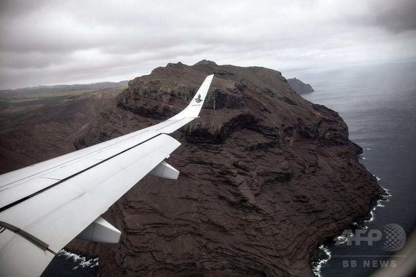 ナポレオンの流刑地、絶海の孤島セントヘレナ島に初の民間定期航空便