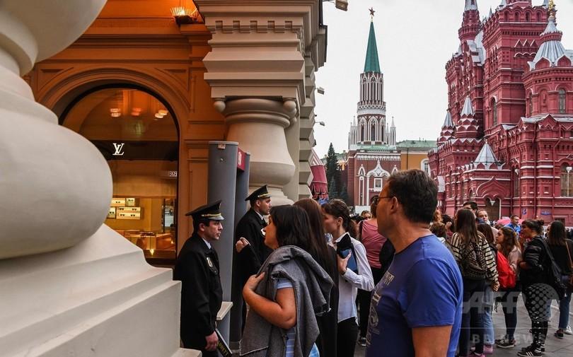 モスクワで30か所以上に爆破予告、1万5000人超避難