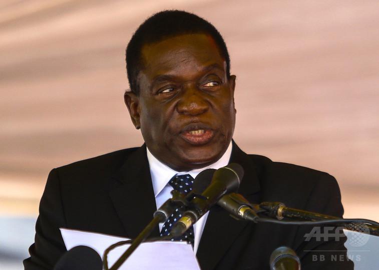 前副大統領のムナンガグワ氏、24日に大統領就任へ ジンバブエ