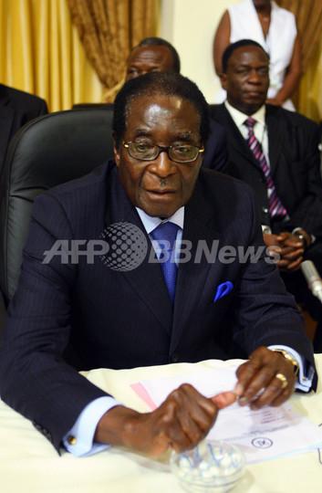 ツァンギライ氏、2月に首相就任へ ジンバブエ