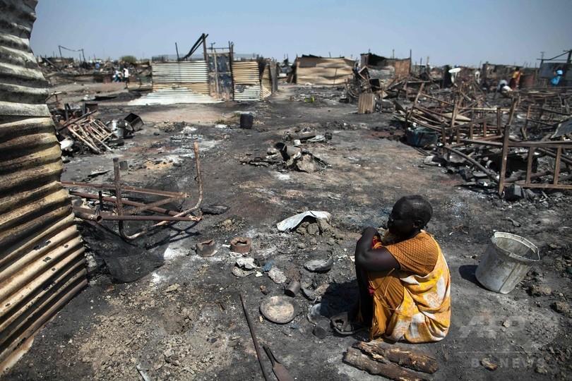 2月の南スーダン避難民キャンプ襲撃、国連が報告書 死者25人に