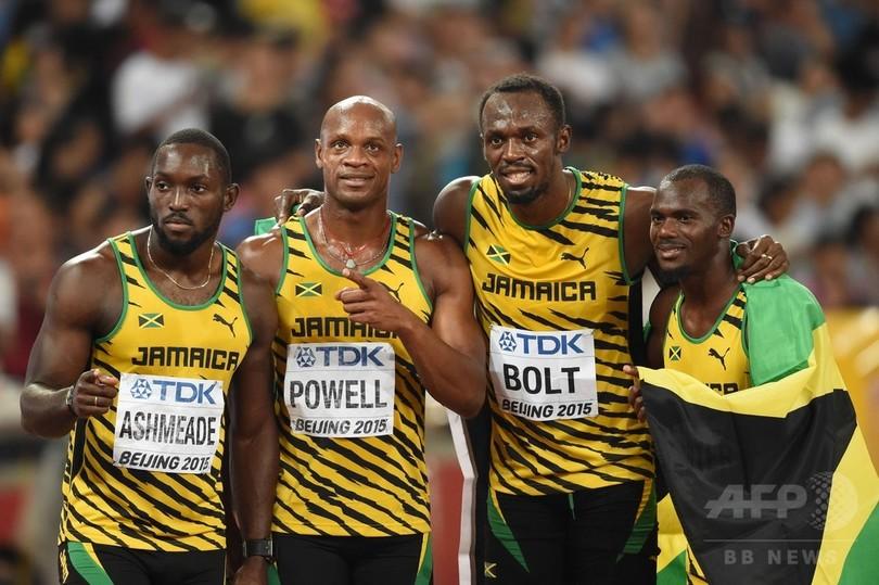 ジャマイカが男子4×100mリレー制...