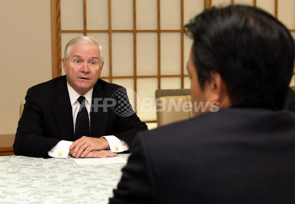 普天間移設、米政府に「日本の民意尊重を」と岡田外相