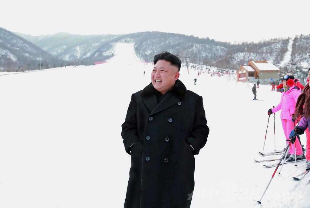 金第1書記、スキーリゾート完成に「大いなる満足」