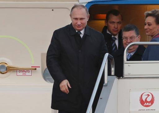プーチン大統領来日、山口で日露首脳会談へ