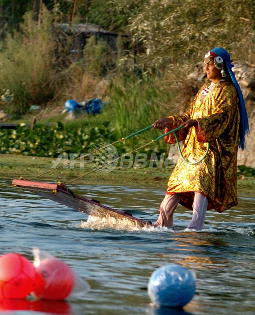 スリナガル、水上スポーツの祭典