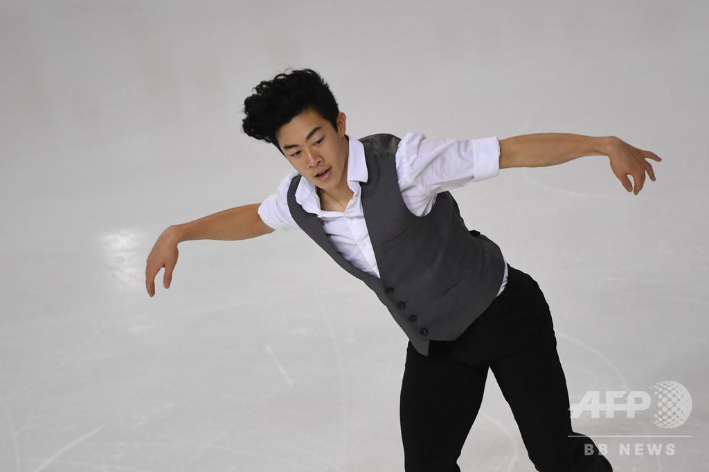 世界王者チェンが3連覇へ好発進、スケート・アメリカ