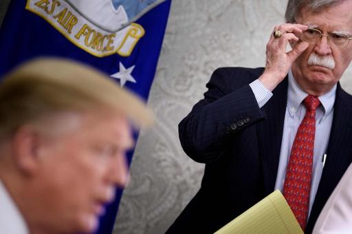 北朝鮮、ボルトン米大統領補佐官を非難 「安保を破壊」「消えるべき」