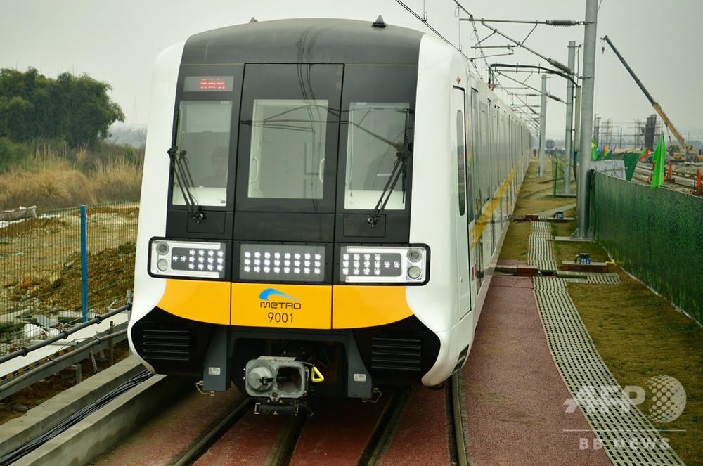 全自動の無人列車が初登場 成都の地下鉄9号線