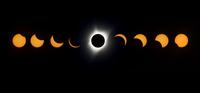 皆既日食が米国横断 世紀の天文ショーに市民興奮