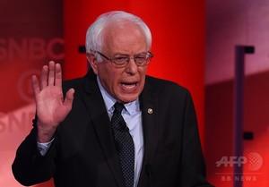 民主候補の批判合戦激化=討論会で初の一騎打ち-米大統領選