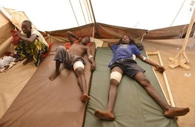 中央アフリカでPKO部隊がデモ隊に発砲、1人死亡