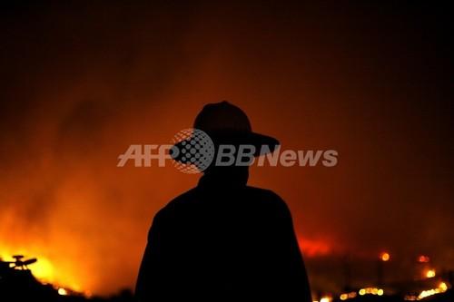 国際ニュース:AFPBB Newsカリフォルニアの山火事、50万人に避難命令