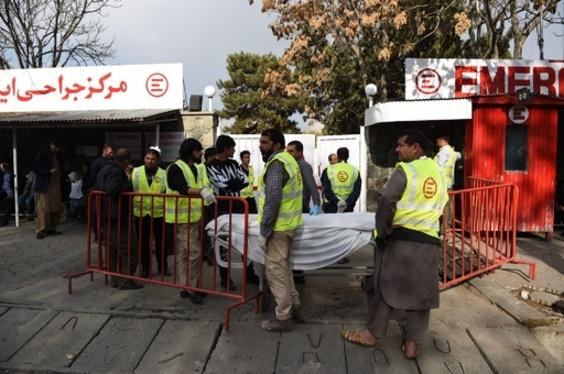 アフガン首都中心部で自爆攻撃 6人死亡、20人負傷
