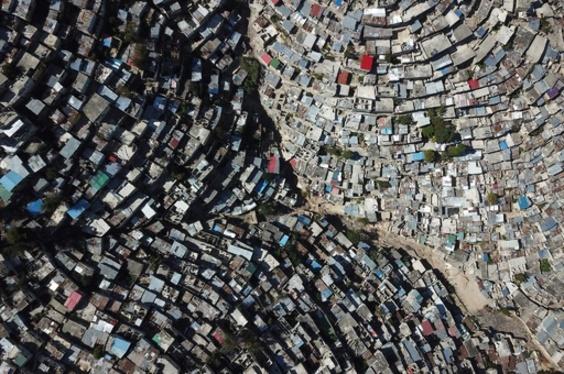 【今日の1枚】密集地域のうねり ハイチ