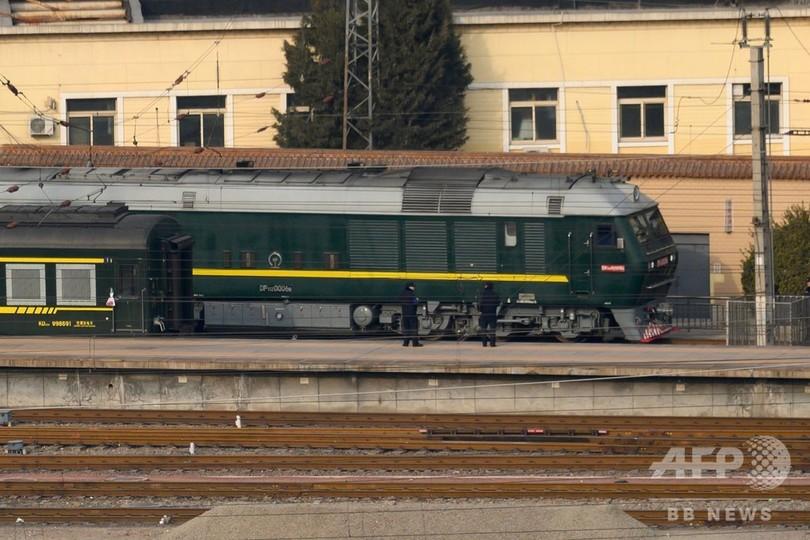 中国訪問を終えた金正恩氏の列車、北京を出発