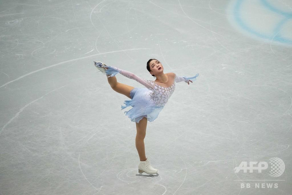 韓国選手、ライバルから故意に負傷させられたとISUに申し立て 世界フィギュア