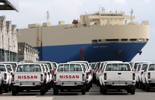 8月の貿易黒字、自動車輸出好調で3.8倍増