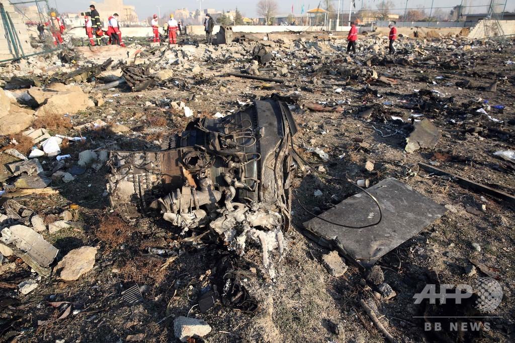 イランで墜落のウクライナ機、イラン人82人やカナダ人63人ら搭乗