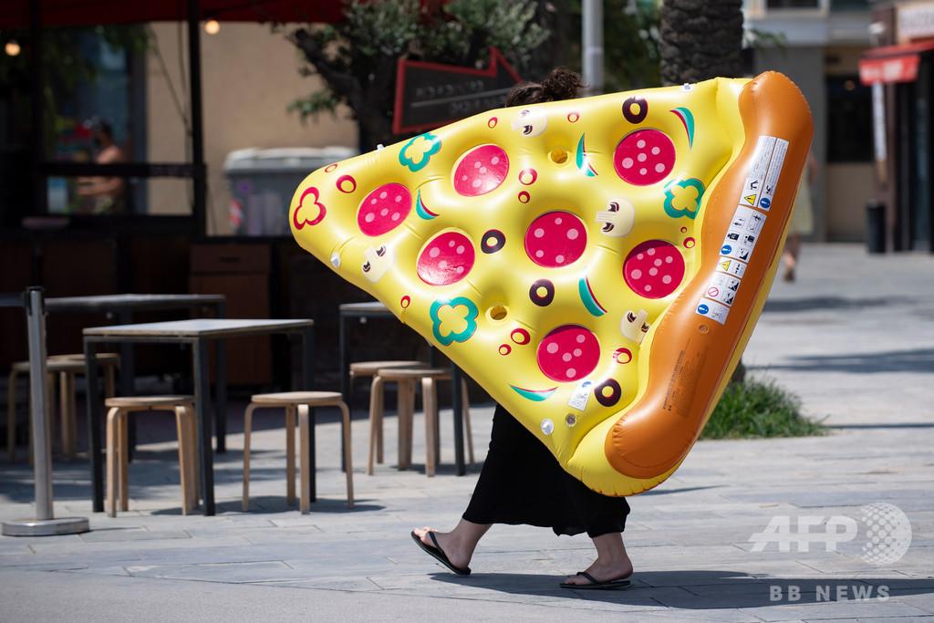 【今日の1枚】ピザ、宅配中?