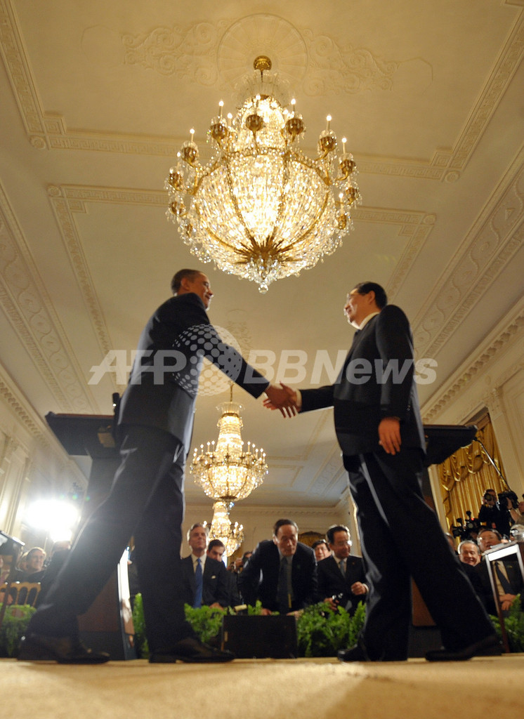 米中首脳会談、国際問題での協調を確認 人権問題では相違