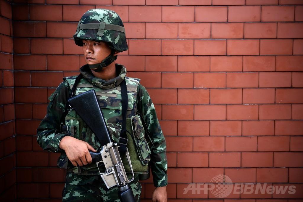 タイ陸軍、メディア検閲を布告 戒厳令に続き