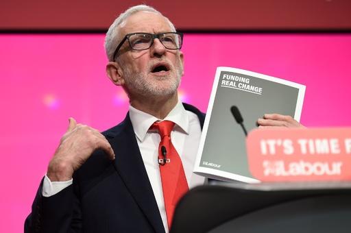 英労働党、国民投票の再実施を約束 マニフェスト発表
