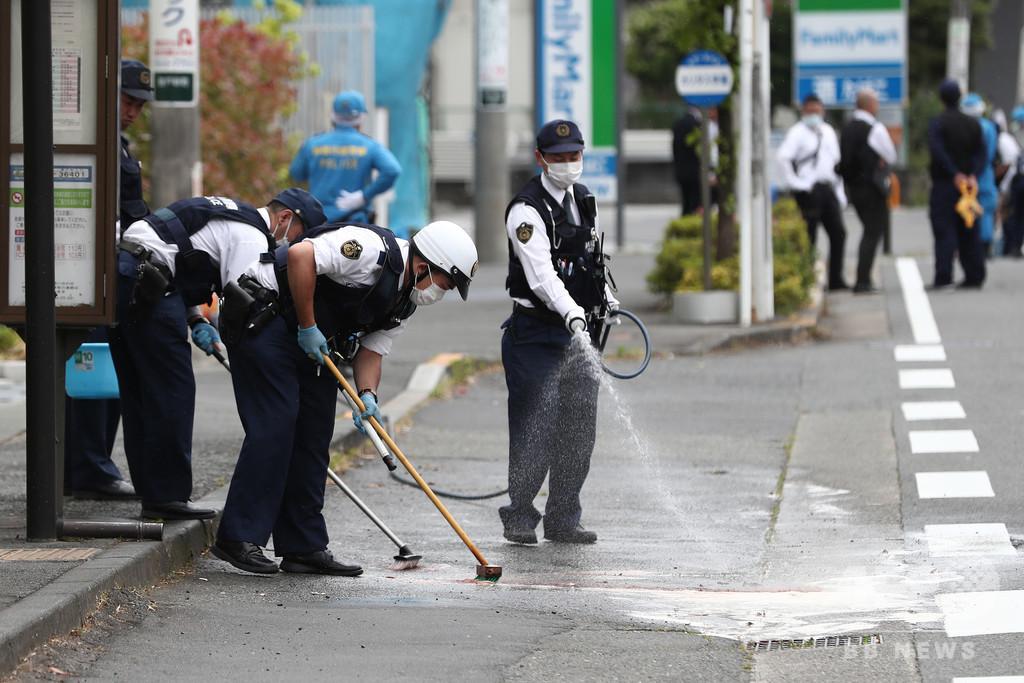 川崎市の路上で子ども含む19人刺される、女児と男性が死亡 刺した男も死亡